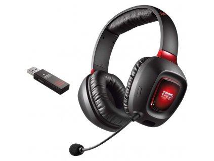 Headset Creative Labs Tactic 3D Rage Wireless V2 - černý