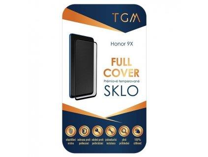 Ochranné sklo TGM Full cover na Honor 9X - černé