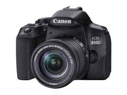 Zrcadlovka Canon EOS 850D + 18-55 IS STM