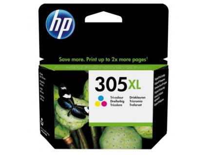 Inkoustová náplň HP 305XL, 200 stran, CMY
