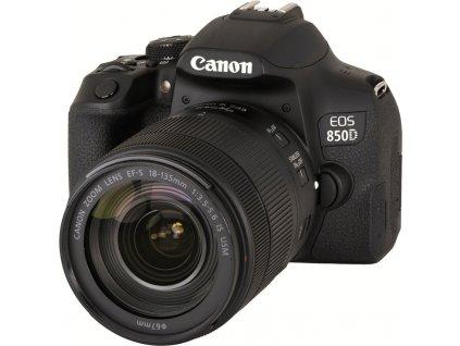 Zrcadlovka Canon EOS 850D + 18-135 IS USM