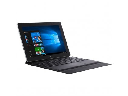 "Dotykový tablet Umax VisionBook 10Wa Tab 10.1"", 64 GB, WF, BT, Win 10 Pro + dock - černý"