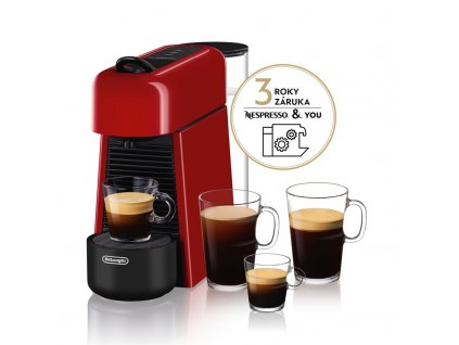 Espresso DeLonghi EN200.R Nespresso Essenza Plus