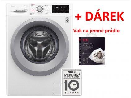 Pračka LG F4TURBO9, parní  + LG 10 let záruka na Direct Drive motor + dárek VAK NA JEMNÉ PRÁDLO