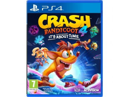 Hra Activision PlayStation 4 Crash Bandicoot 4: It's About Time