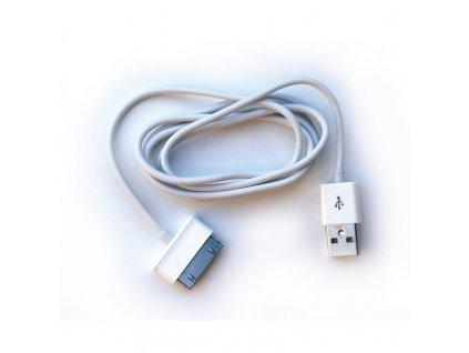 Kabel CPA Halo P1000 pro Samsung Galaxy Tab, USB - bílý