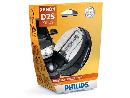 Autožárovka Philips Xenon Vision D2S, 1ks