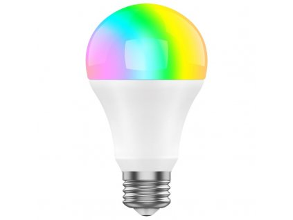 Chytrá žárovka iGET E27, 8W, RGB+W, samostatná a také pro alarm iGET M4
