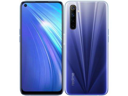 Mobilní telefon Realme 6 64 GB - modrý