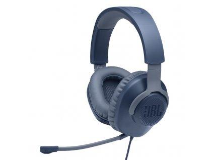 Headset JBL Quantum 100 - modrý