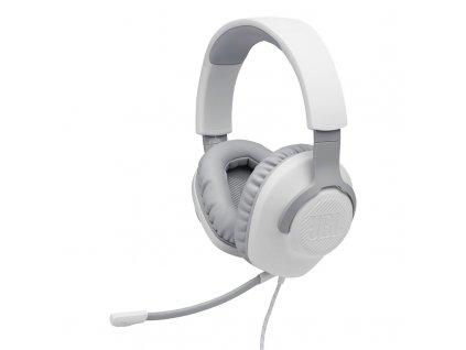 Headset JBL Quantum 100 - bílý