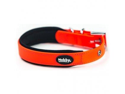 Obojek Nobby Cover PVC M - oranžový