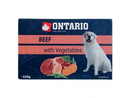 Vanička Ontario Beef with vegetable 320g
