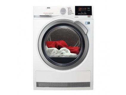 Sušička prádla AEG AbsoluteCare® T8DBG68SC bílá  + CASHBACK 3000,- Kč PŘI REGISTRACI NA STRÁNKÁCH AEG.cz