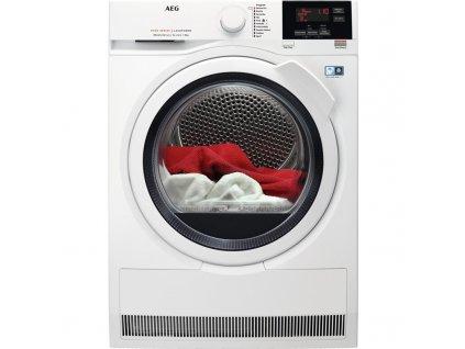 Sušička prádla AEG AbsoluteCare® T8DBG68WC  + CASHBACK 2000,- Kč po registraci na www.aeg.cz + Míčky do sušičky