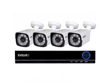 Kamerový systém Evolveo Detective DV4, DVR - bílá