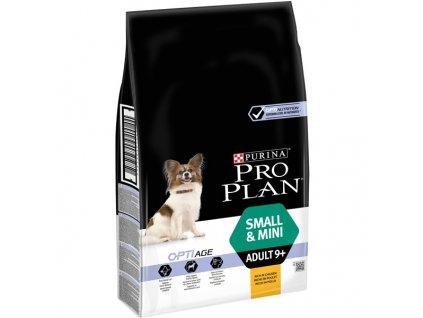 Granule Purina Pro Plan SMALL & MINI ADULT 9+ Kuře 7 kg