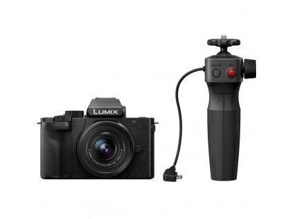 CSC fotoaparát Panasonic Lumix DC-G100 + 12-32 a stativ, černý