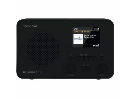 Internetové rádio s DAB+ TechniSat TECHNIRADIO 6 IR, černé