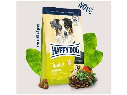 Granule HAPPY DOG Junior Lamb & Rice 4 kg