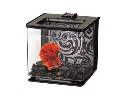 Akvárium Marina Betta EZ Care Kit 2,5l - černé/plast