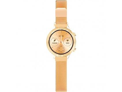 Chytré hodinky Aligator Lady Watch - zlaté