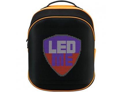 Batoh na notebook Prestigio LEDme MAX 25L - černý/oranžový