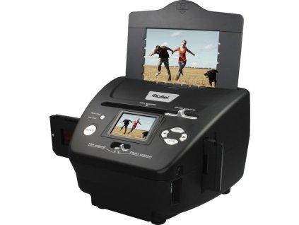 """Skener Rollei DF-S 240 SE/ Negativy + Vizitky + Fotky/ 5Mpx/ 1800dpi/ 2,4"""" LCD/ SDHC/ USB"""