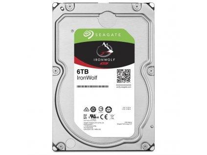 "HDD 3,5"" Seagate IronWolf 6TB SATA 6 Gb/s, SATA III, 5400 ot/min, 256MB cache"