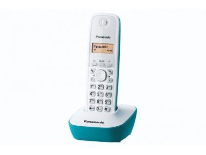 Domácí telefon Panasonic KX-TG1611FXC - modrý