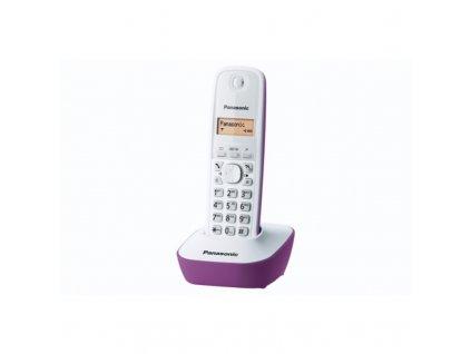 Domácí telefon Panasonic KX-TG1611FXF - fialový