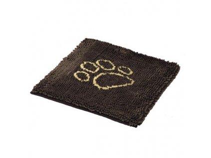 Rohožka Nobby čistící podložka pro psa S 61 x 45 cm - hnědá