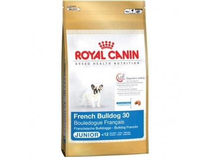 Granule Royal Canin Fr. Buldoček Junior 3 kg