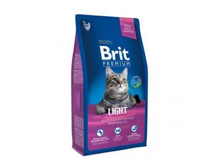 Granule Brit Premium Cat Light 8kg