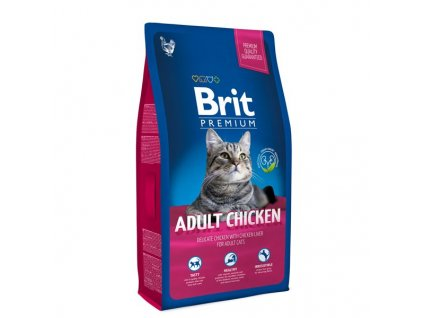 Granule Brit Premium Cat Adult Chicken 1,5kg