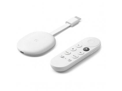 Multimediální centrum Google Chromecast Google TV, bílý