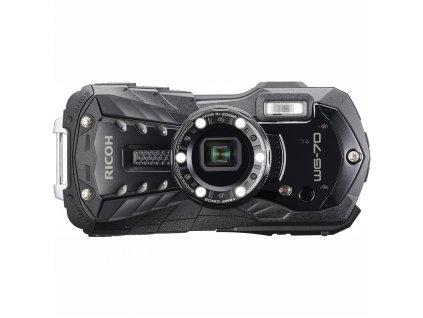 Fotoaparát Ricoh WG70, černá