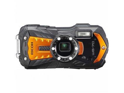 Fotoaparát Ricoh WG70, oranžová