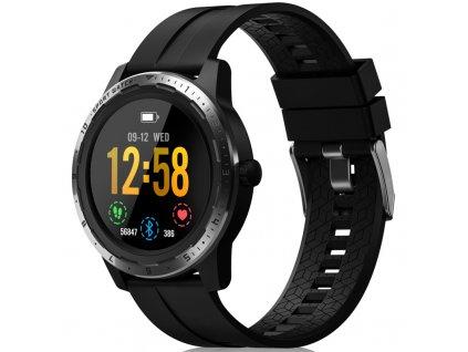 Chytré hodinky Niceboy X-fit Coach GPS - černý