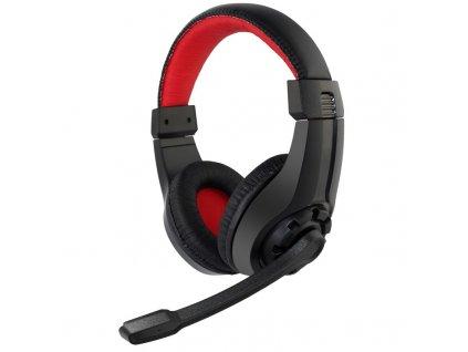 Headset Gembird GHS-01 Gaming - černý