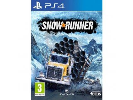 Hra PlayStation 4 SnowRunner