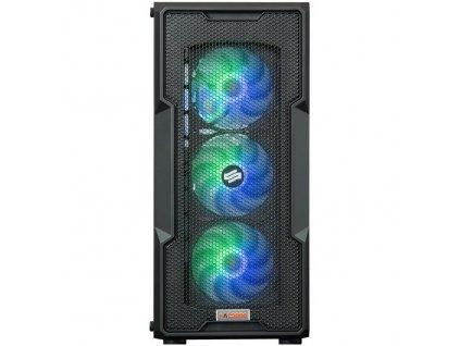 Počítač HAL3000 Alfa Gamer Elite 3060 R7-5800X, 16GB, 1024 GB, bez mechaniky, GeForce RTX 3060, 12GB, W10 Home