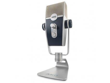 Mikrofon AKG C44-USB LYRA - stříbrný