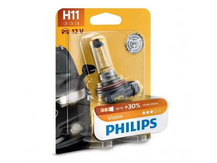 Autožárovka Philips H11 Vision 1 ks