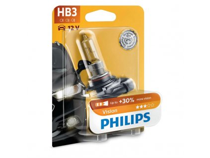 Autožárovka Philips HB3 Vision 1 ks