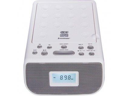Radiobudík s CD Soundmaster URD860WE, bílý
