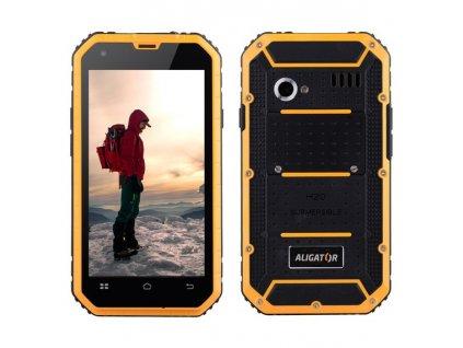 Mobilní tel. ALIGATOR RX460 eXtremo černo-žlutý