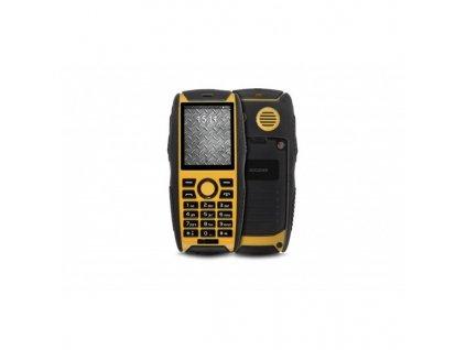 Mobilní telefon GoClever Quantum 3 220 Rugged - černý/žlutý