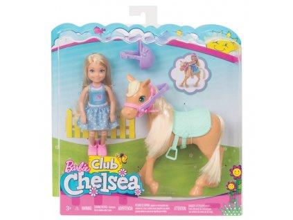 Barbie Mattel Chelsea a poník