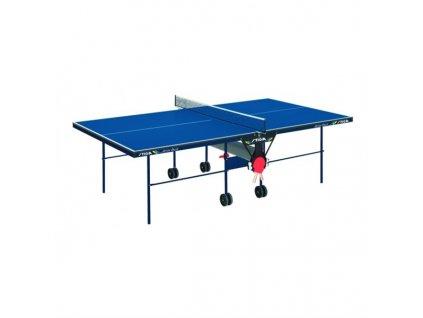 Stůl na stolní tenis Stiga Action Roller modrý, vnitřní